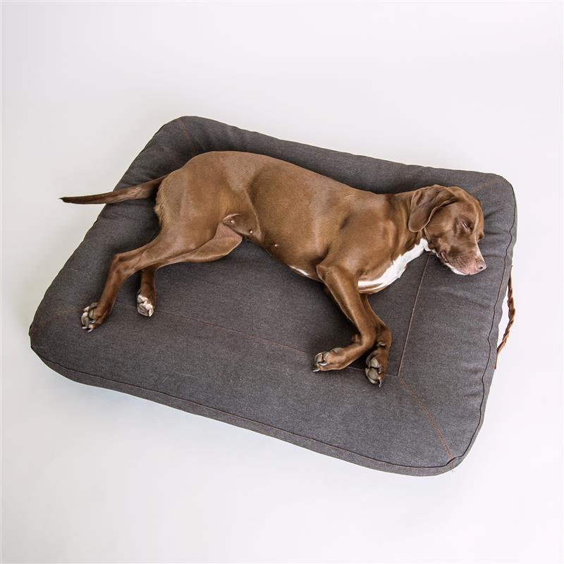 HUNDEBETT DREAM HEATHER BROWN (L)