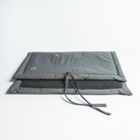DOG MAT - WATERPROOF MID GREY - L