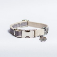 CLOUD7 - Halsband -COCO-TAUPE - Gr. S