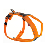 non-stop dogwear Line Harness Universalgeschirr neon-orange