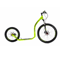 Crussis Scooterbike CROSS 6.2 yellow with black